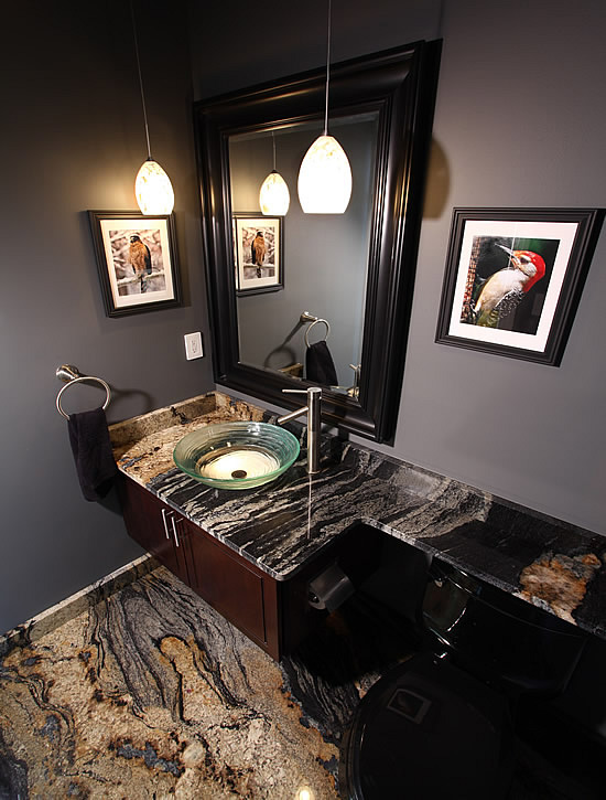 corner bathroom vanity with