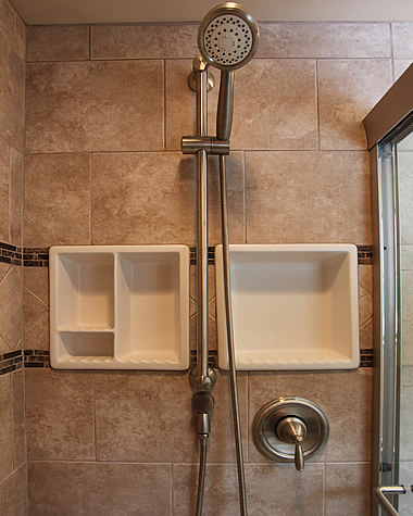 Bathroom Shower Niches Idea