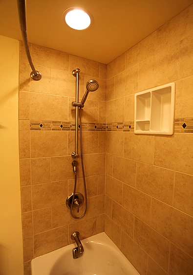 Bathroom Shower Niches