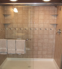 6 x 6 tile shower bathroom