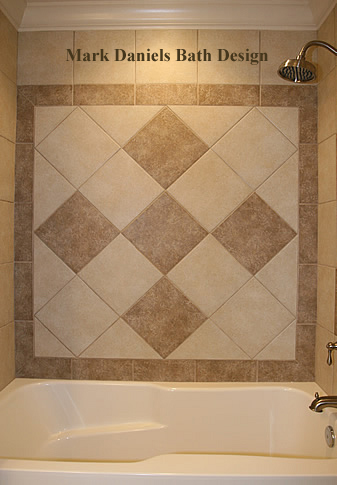 Tile pictures bathroom remodeling kitchen back splash fairfax manassas design ideas photos va Shower tile layout