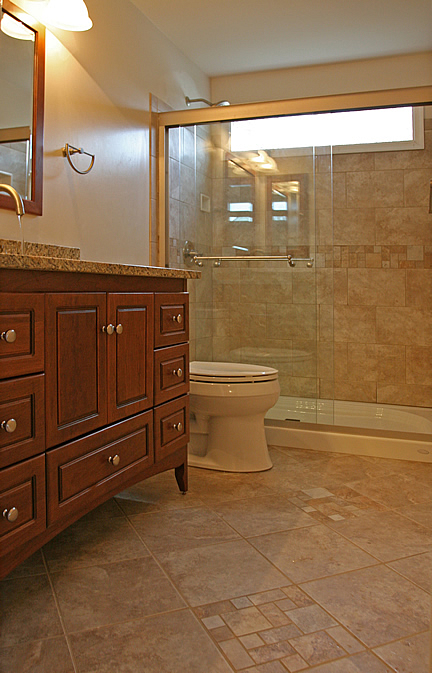 Bathroom remodeling fairfax burke manassas va pictures Small bathroom remodel tile