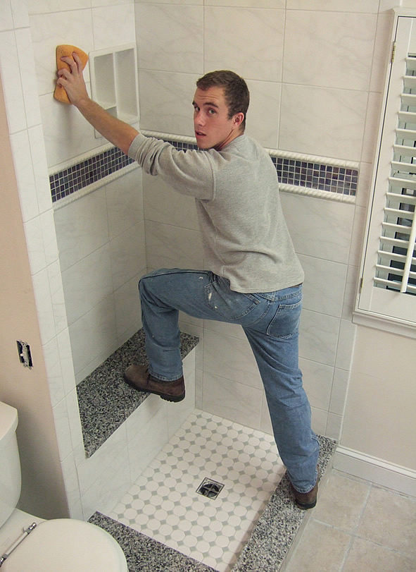 Fairfax bathroom remodeling Evan daniels