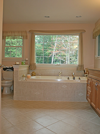 Master bathroom manassas tub