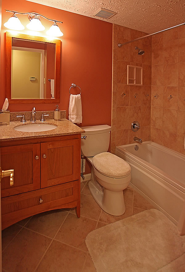 Recessed Lighting Placement Over Vanity : Do you have a light over your bathroom mirror