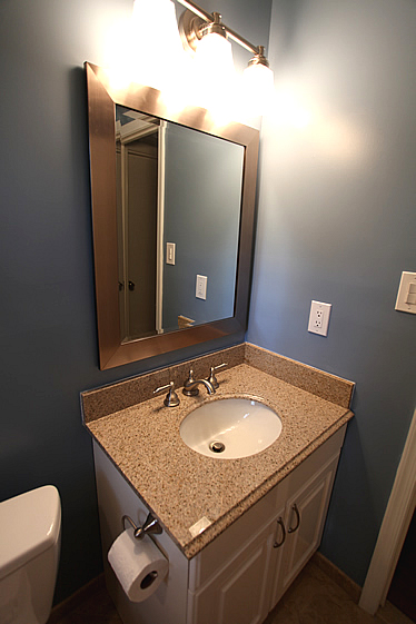 bathroom granite vanity