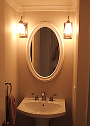 Small bathroom remodeling fairfax burke manassas remodel pictures bathroom lighting idea aloadofball Gallery