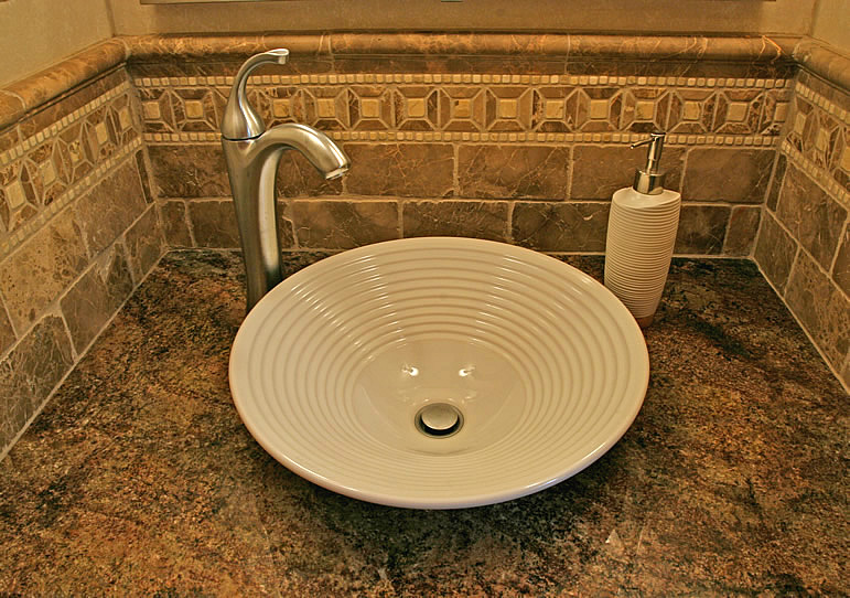 Bathroom Ideas with Vessel Sinks