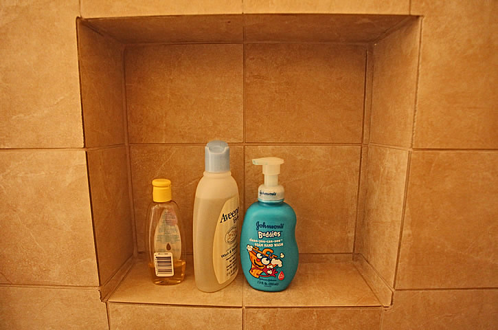 Bathroom Remodeling Shampoo Niche Soap