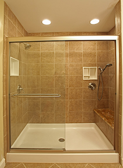 big bathroom shower tile design ideas
