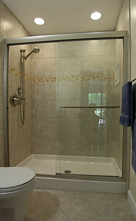 Convert Tub Area To Large 5 Ft Tiled Shower Springfield Va. Best Large Shower  Design Idea