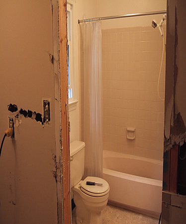 pictures of bathrooms with shower curtains