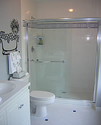 frameless kohler shower door