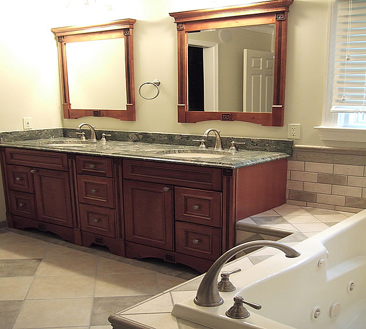 Bathroom Remodel Mirrors bathroom remodeling fairfax burke manassas va.pictures design tile