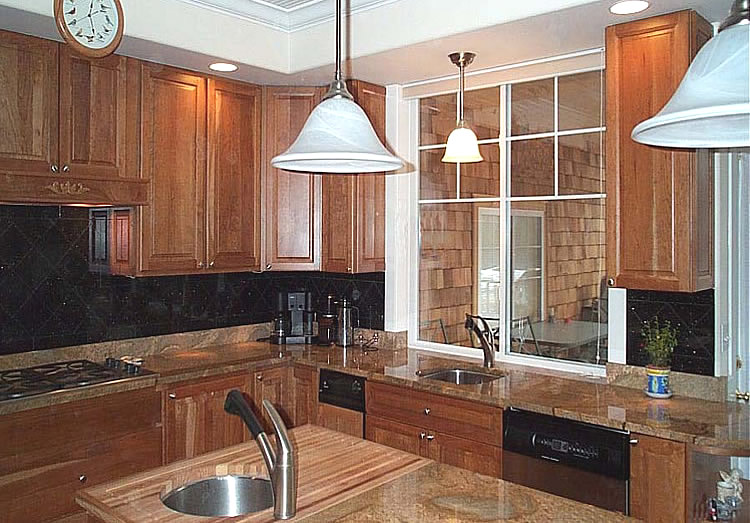 Kitchen Tile Backsplash Remodeling Fairfax Burke Manassas Va Design Extraordinary Backsplash Ideas For Black Granite Countertops Remodelling