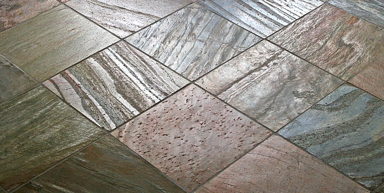 Kitchen Remodeling Floor Tile Slate Picture Idea Design