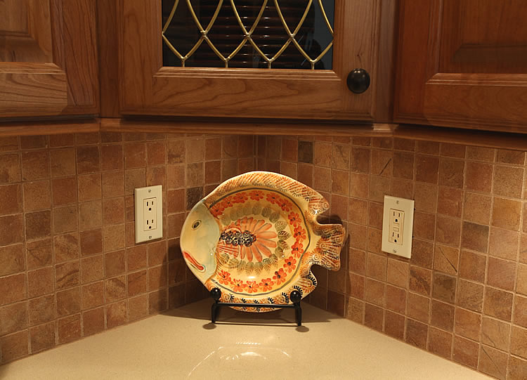 Ge Profile Countertop Microwave Kitchen Tile Backsplash Remodeling Fairfax Burke Manassas ...