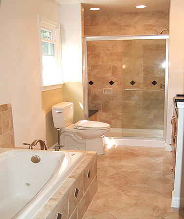 Kitchen  Bathroom Design on Bathroom Remodeling Fairfax Burke Manassas Va Pictures Design Tile