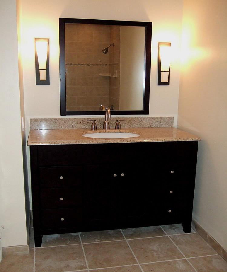 granite vanity foto