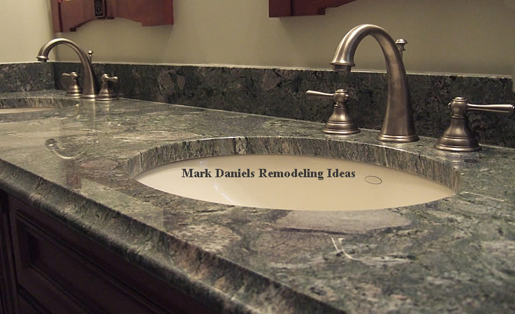 granite vanity countertop
