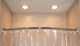 shower recessed lights