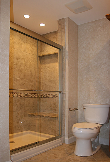 Bathroom remodeling fairfax burke manassas va pictures for Small restroom design