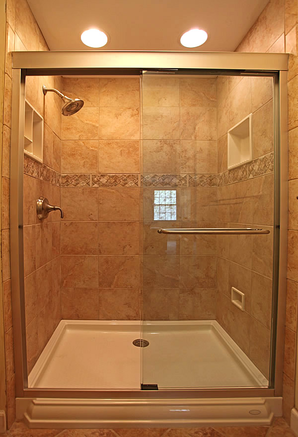 Burke Virginia Shower Tile Remodeling Master Bathroom Remode