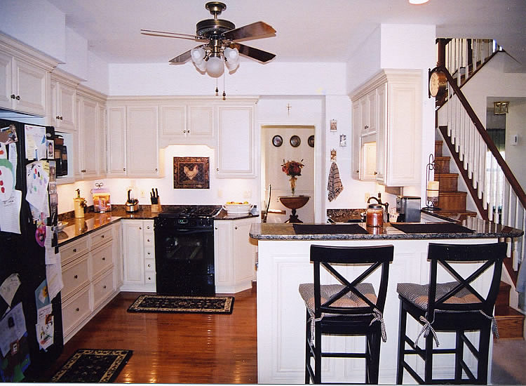 Kitchen Tile Backsplash Remodeling Fairfax Burke Manassas ... Electric Stove Top Granite